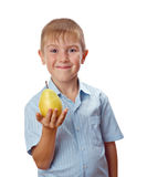 Cool 7 year old boy Stock Photos