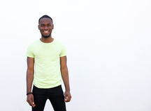 Cool young african american guy Royalty Free Stock Photo