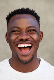 Cool young african american man laughing Royalty Free Stock Image