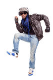 Cool Young black men dancing Stock Photos