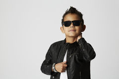 Cool young boy Stock Photo