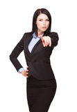 Cool young businesswoman. Royalty Free Stock Photos