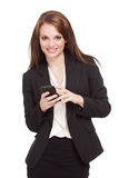 Cool young businesswoman. Royalty Free Stock Photo