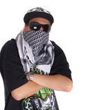 Cool young gangster Stock Photos