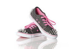 Cool young girl shoes Stock Photo
