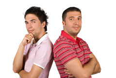Cool young guys Royalty Free Stock Photos