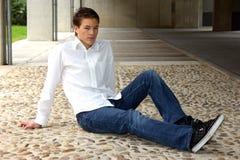Cool young man Royalty Free Stock Photos