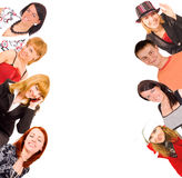 Cool young people Royalty Free Stock Photos