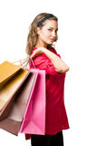 Cool young shopper. Stock Image
