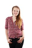 Cool young woman Royalty Free Stock Images