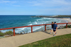 Coolangatta -英属黄金海岸昆士兰澳大利亚 库存图片