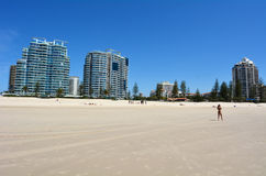 Coolangatta -英属黄金海岸昆士兰澳大利亚 图库摄影