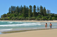 Coolangatta - Australie de la Gold Coast Queensland Photos stock