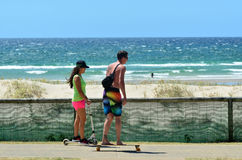 Coolangatta - Australie de la Gold Coast Queensland Image stock