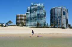 Coolangatta - Australie de la Gold Coast Queensland Images stock