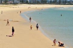 Coolangatta - Gold Coast Queensland Austrália imagem de stock