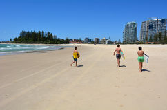 Coolangatta - Gold Coast Queensland Australia Royalty Free Stock Photography