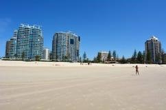 Coolangatta - Gold Coast Queensland Australien Arkivbild
