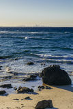 Coolangatta Sunset Royalty Free Stock Images