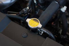 Coolant system in car. Coolant system in the car Royalty Free Stock Photos