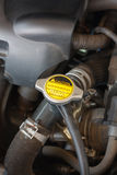 Coolant system in the car Royalty Free Stock Photography