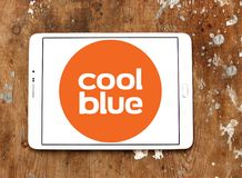 Coolblue handlu elektronicznego firmy logo Zdjęcie Stock