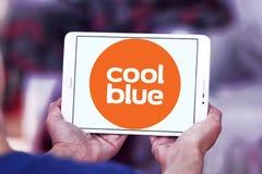 Coolblue handlu elektronicznego firmy logo Fotografia Stock