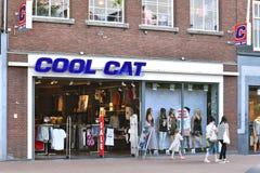 CoolCat Fashion store Stock Photo