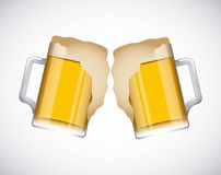 Coold beers Royalty Free Stock Photos