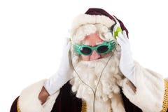 Coole圣诞老人 库存图片
