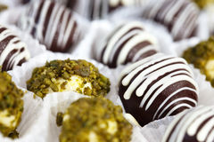 Cooled elegant truffles Stock Photography