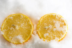 Cooled lemon Royalty Free Stock Photos