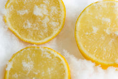 Cooled lemon Stock Photo