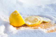 Cooled lemon  3 Stock Photo