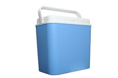 Cooler. From picnic in camping Royalty Free Stock Images