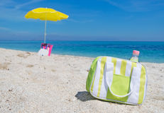 Cooler bag Royalty Free Stock Photography