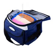 Cooler Bag and Ice Cream Stock Images