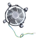 Cooler computer fan. Stock Images
