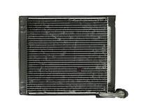 Cooler evaporator unit. Car cooler evaporator unit isolated on white background Stock Photo
