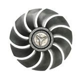 Cooler fan blades Stock Image