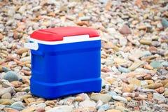Cooler pudełko w australijczyk flaga kolorach obrazy royalty free