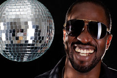 Coolest dj in town Royalty Free Stock Images
