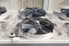 Cooling air conditioning Stock Images