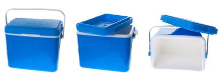 Cooling box Royalty Free Stock Images