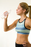 Cooling down after workout Stock Photos