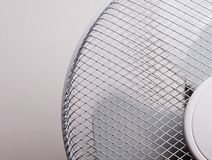 Cooling fan. A cooling fan made of metal Royalty Free Stock Image