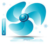 Cooling Fan. An image of a 3d cooling fan Royalty Free Stock Photography