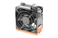 Cooling Fan in Black Bracket Stock Photography