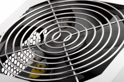 Cooling Fan Close Up Stock Image