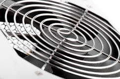 Cooling Fan Close Up Stock Photography
